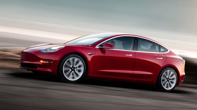Image result for Tesla's Model 3