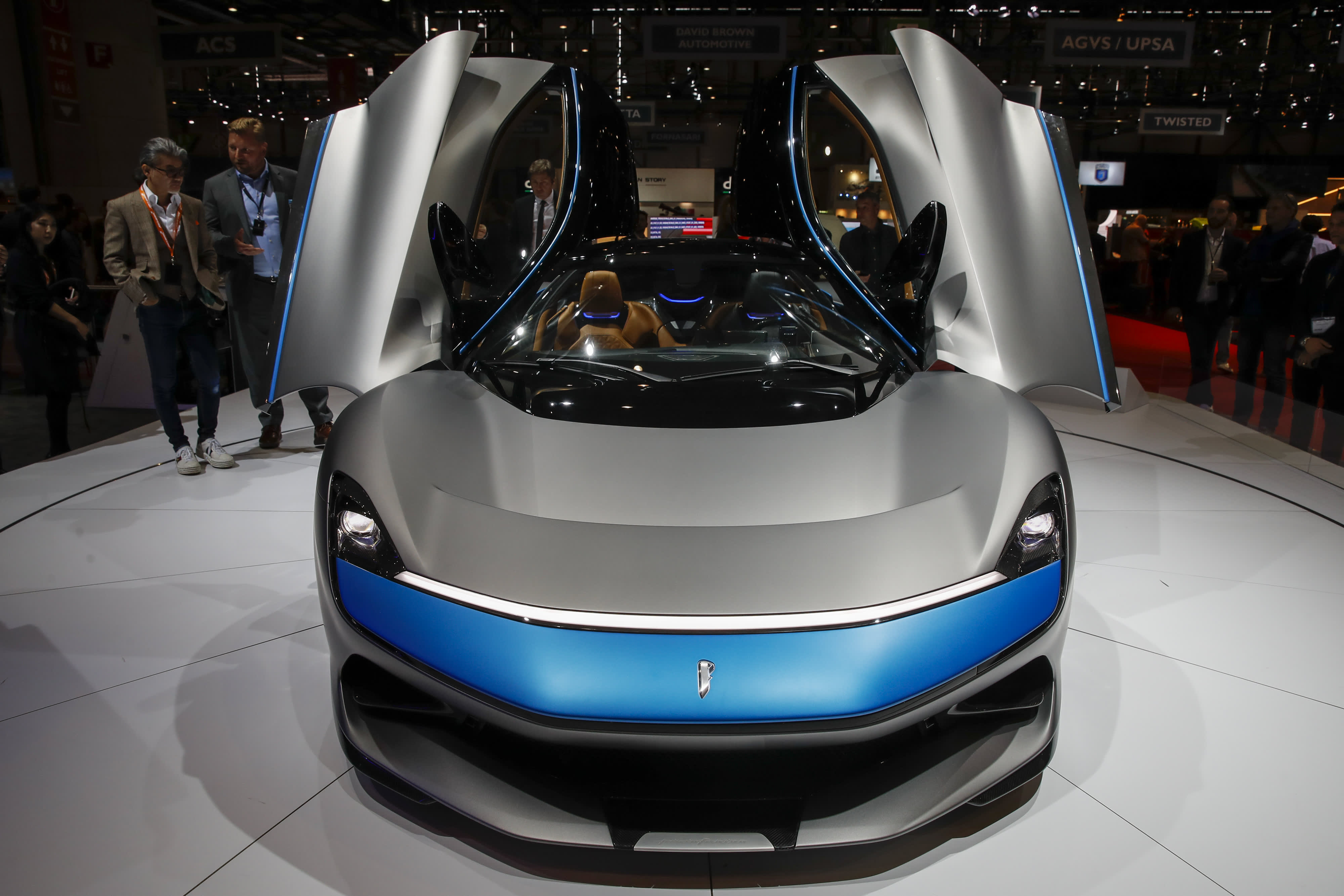 A New 2 Million All Electric Hypercar Accelerates Faster Than An F 16 Jet
