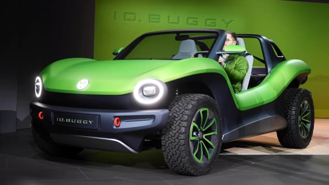 Vw Dune Buggy >> Vw Id Dune Buggy Unveiled At Geneva Motor Show Is All Electric