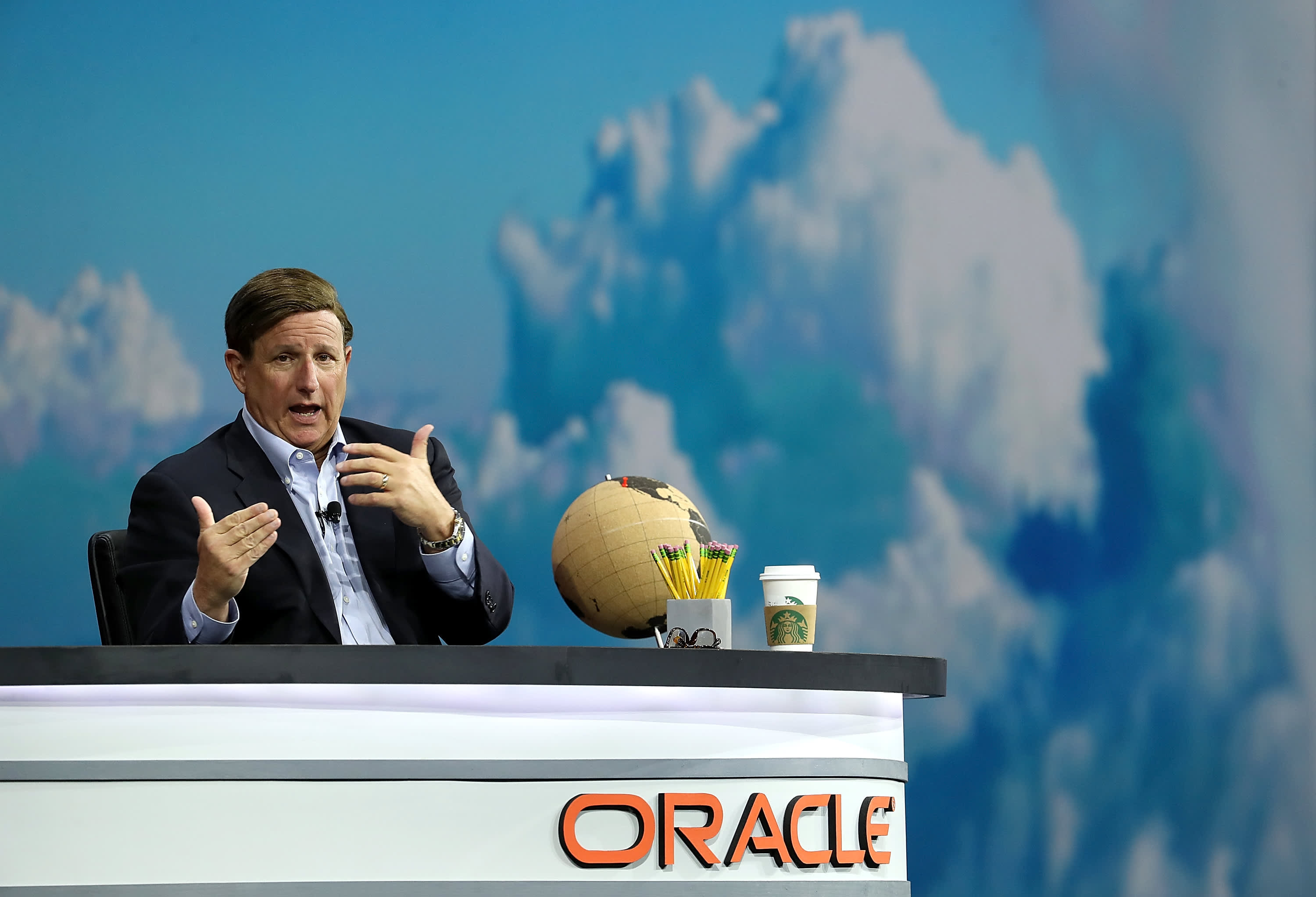 GS: Oracle CEO Mark Hurd Addresses Annual OpenWorld Conference