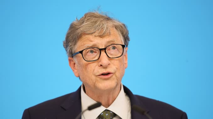 GS: Microsoft founder Bill Gates speaking