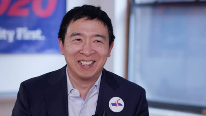 CNBC Andrew Yang