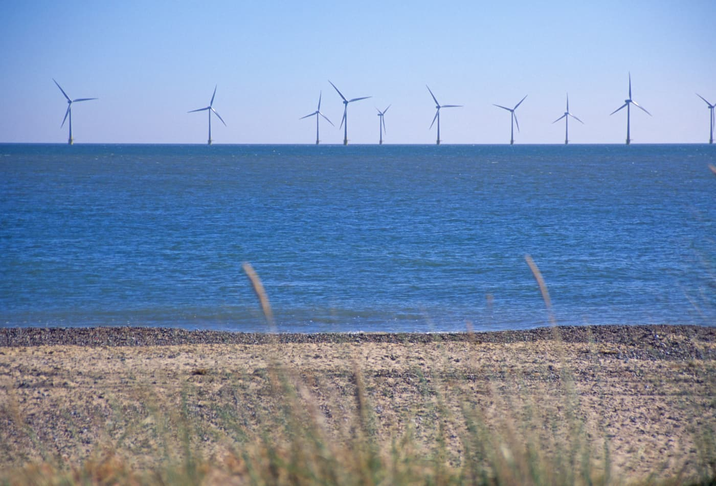 Offshore wind installations in European waters hit a record level last year