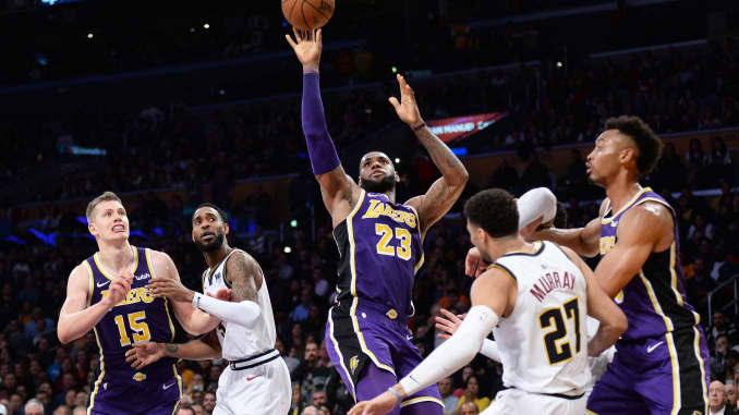 LeBron James beats Michael Jordan's NBA points but short on