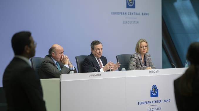GP: ECB Governing Council Meets As Eurozone Slumps 1