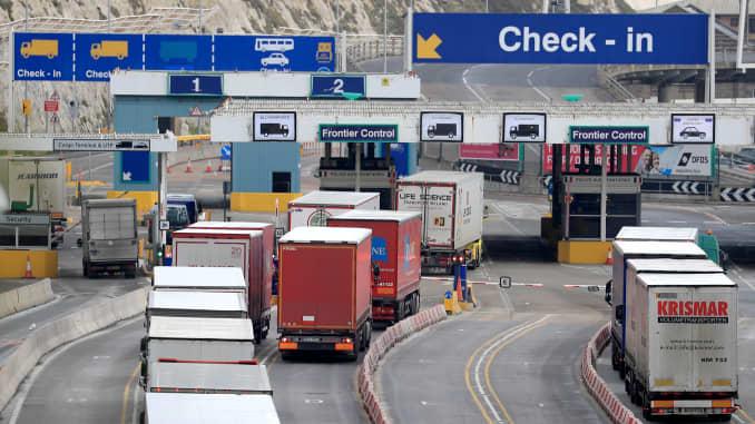 Premium: Brexit lorries