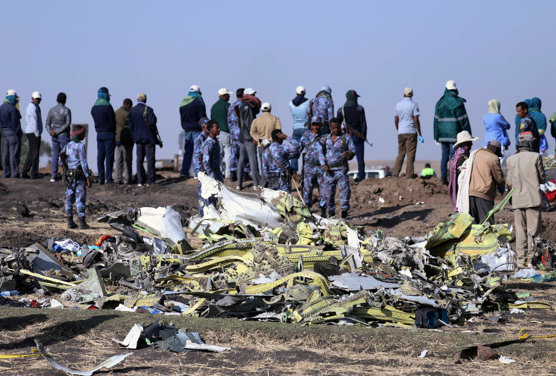 RT: Ethiopia plane crash Boeing 737