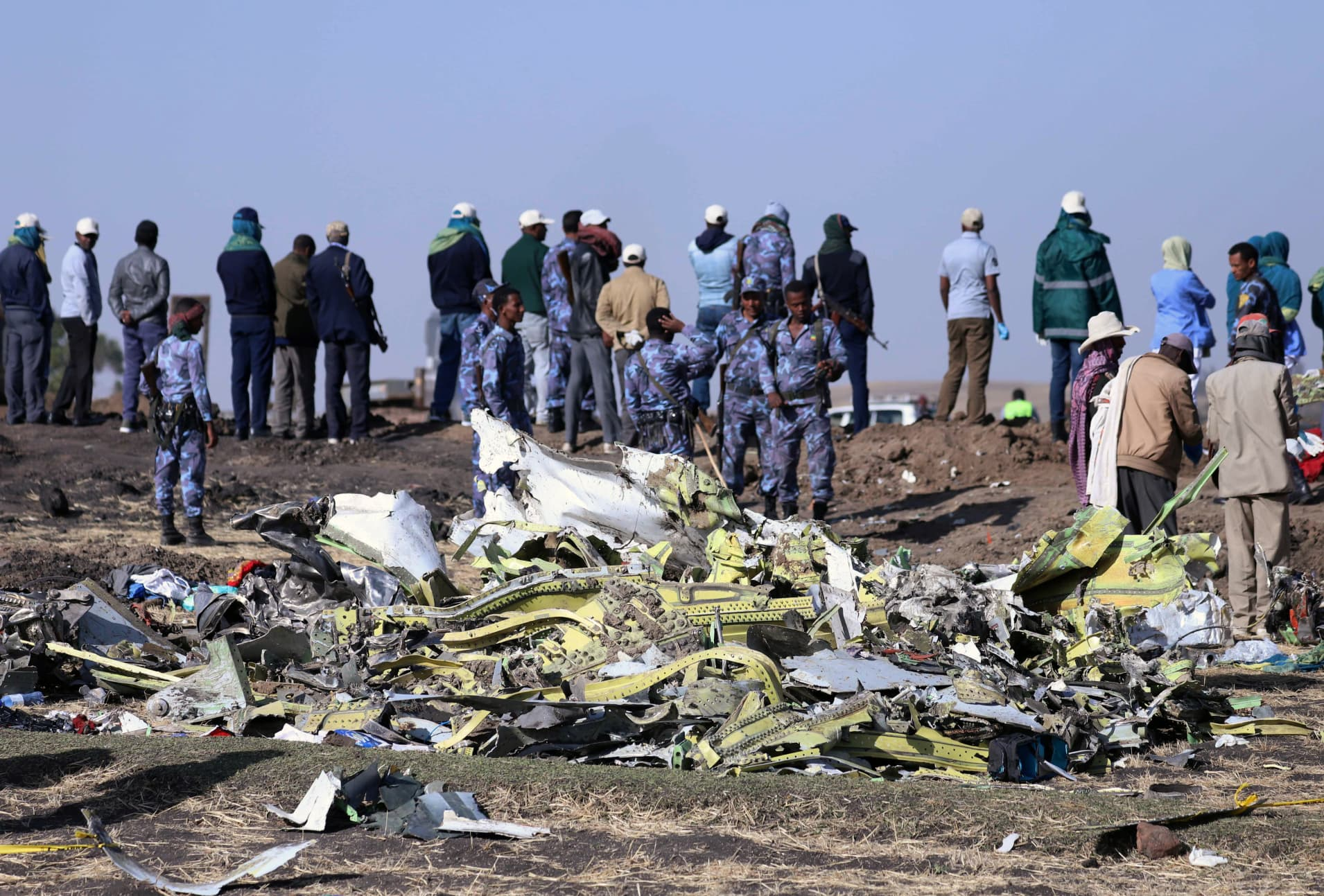 RT: Ethiopia plane crash Boeing 737
