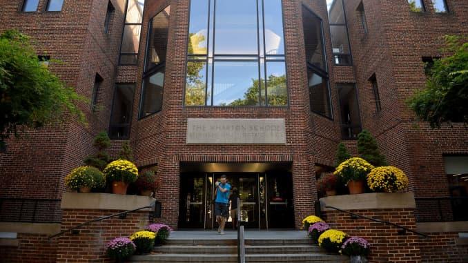 RT: Wharton School of Business