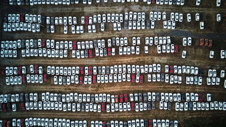 GP: New Cars In Shenyang China