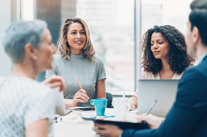 GP: Women in business meeting