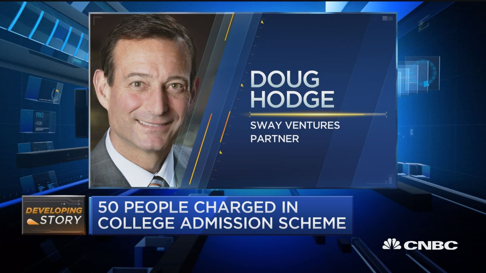 A slew of CEOs charged in alleged college entrance cheating scam
