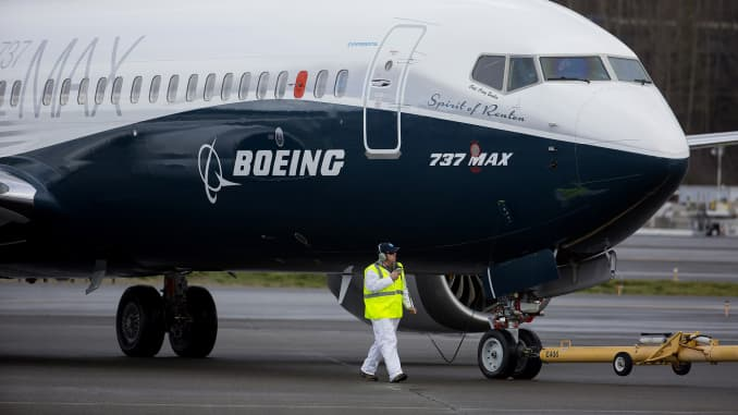 GP: First Flight Of The Boeing Co. Max 737 Jet