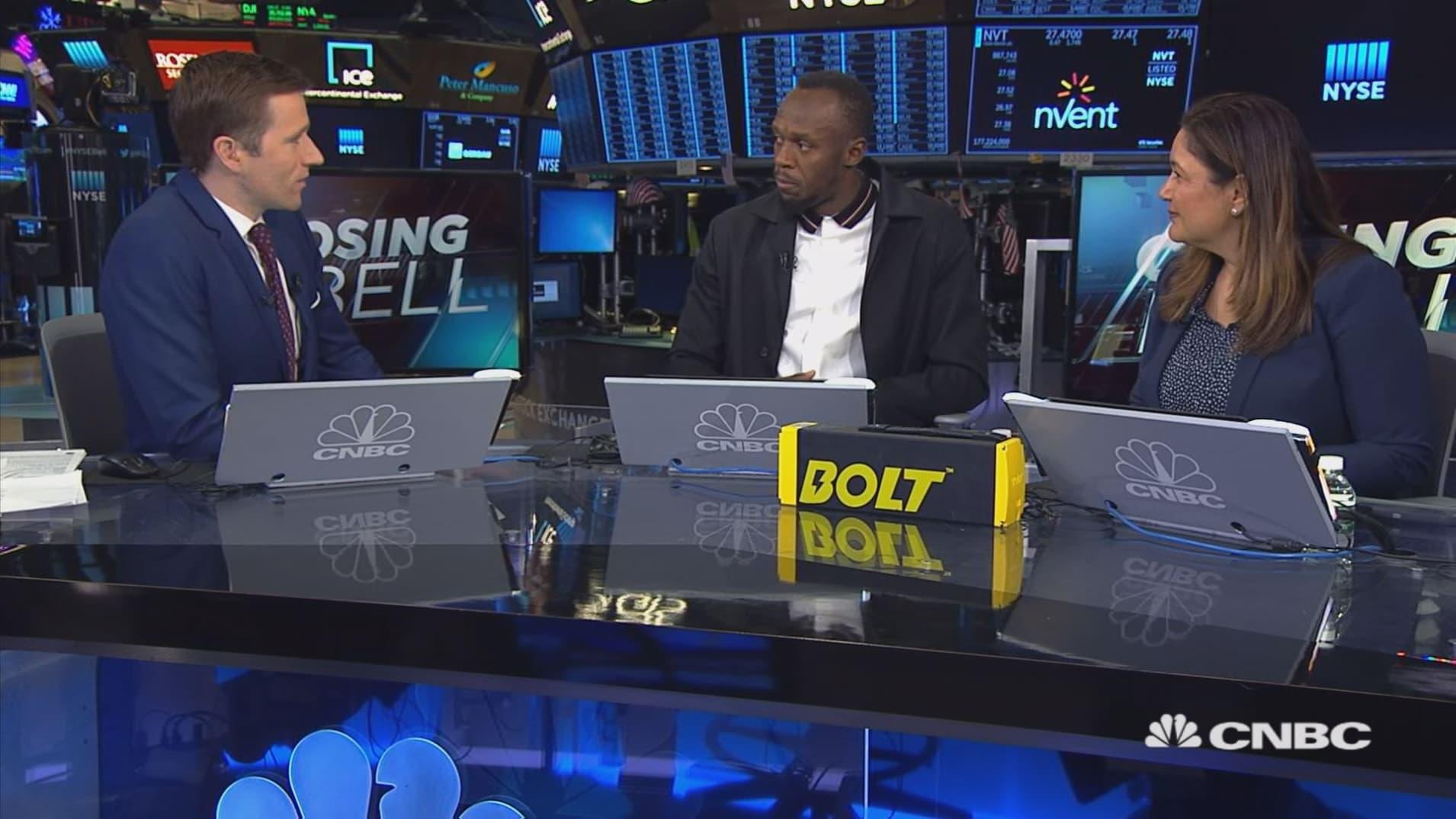 Usain Bolt and Sarah Haynes on E-Scooter company, Bolt