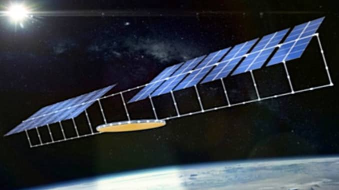 H/O: China space-based solar power project concept