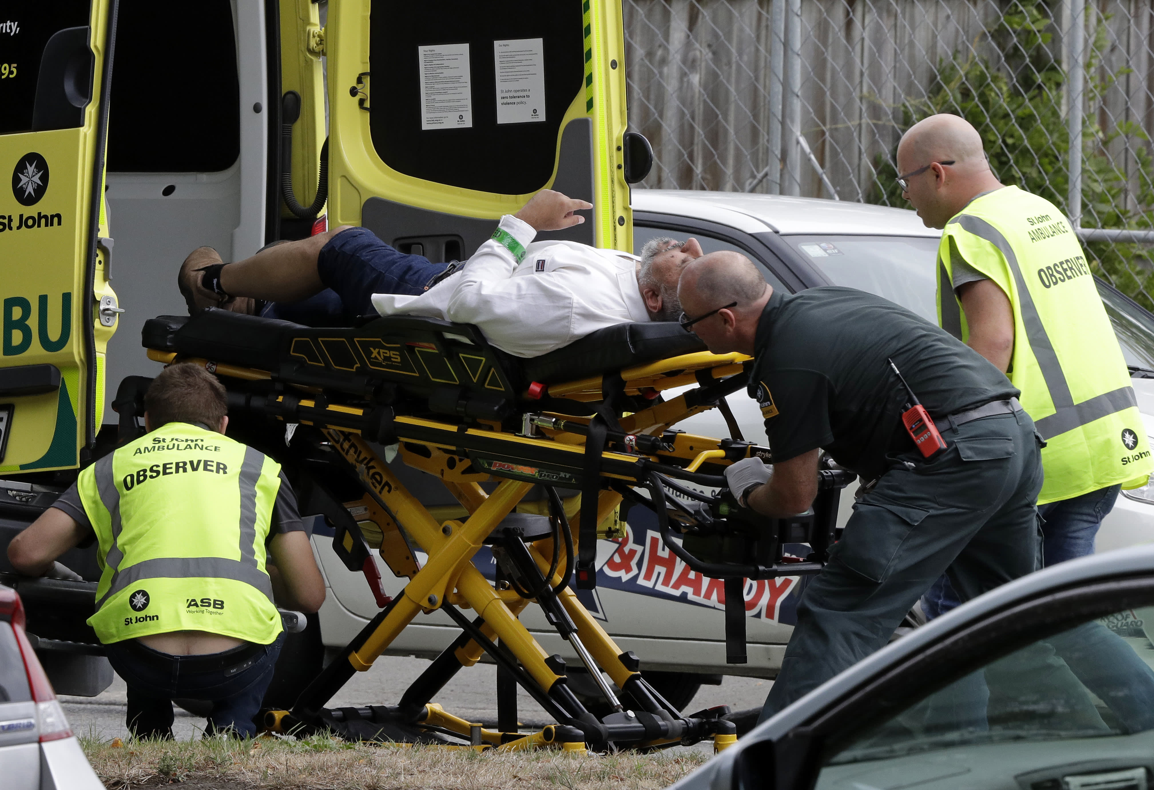 Shooting at mosque in Christchurch, New Zealand
