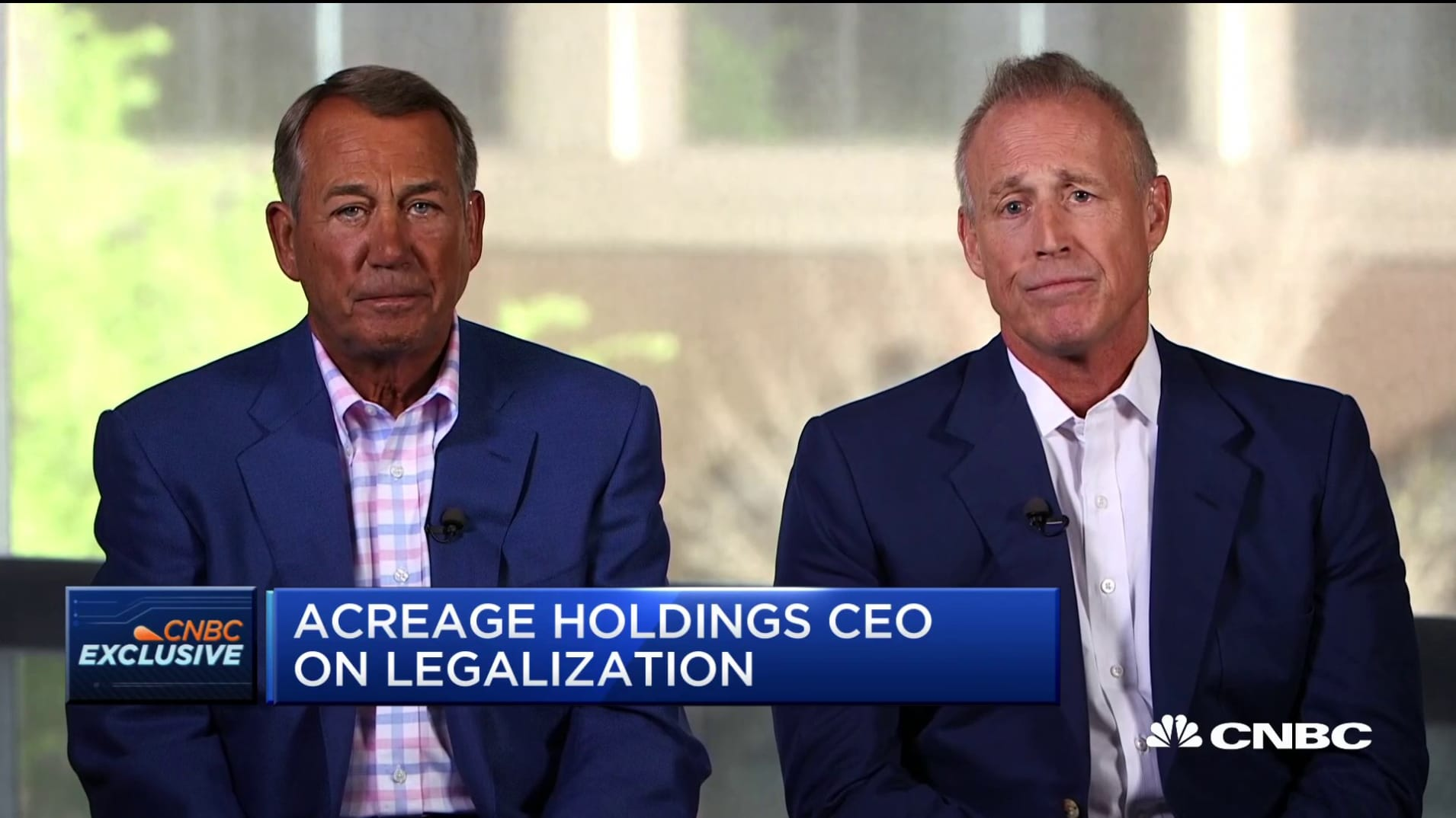 Watch CNBC's full interview with former House Speaker John Boehner and Acreage CEO Kevin Murphy