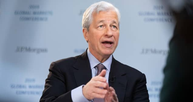 Jamie Dimon says U.S. consumers are 'coiled, ready to go' with $2 trillion more in checking accounts