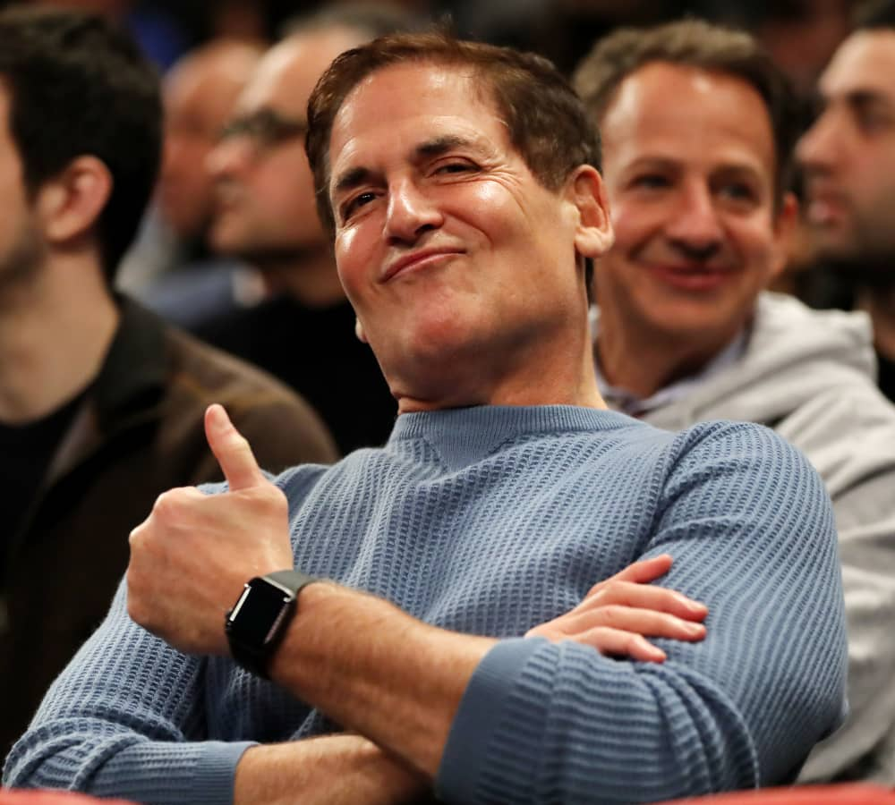 Mark Cuban partied in Vegas and bought a mansion when he first became a billionaire