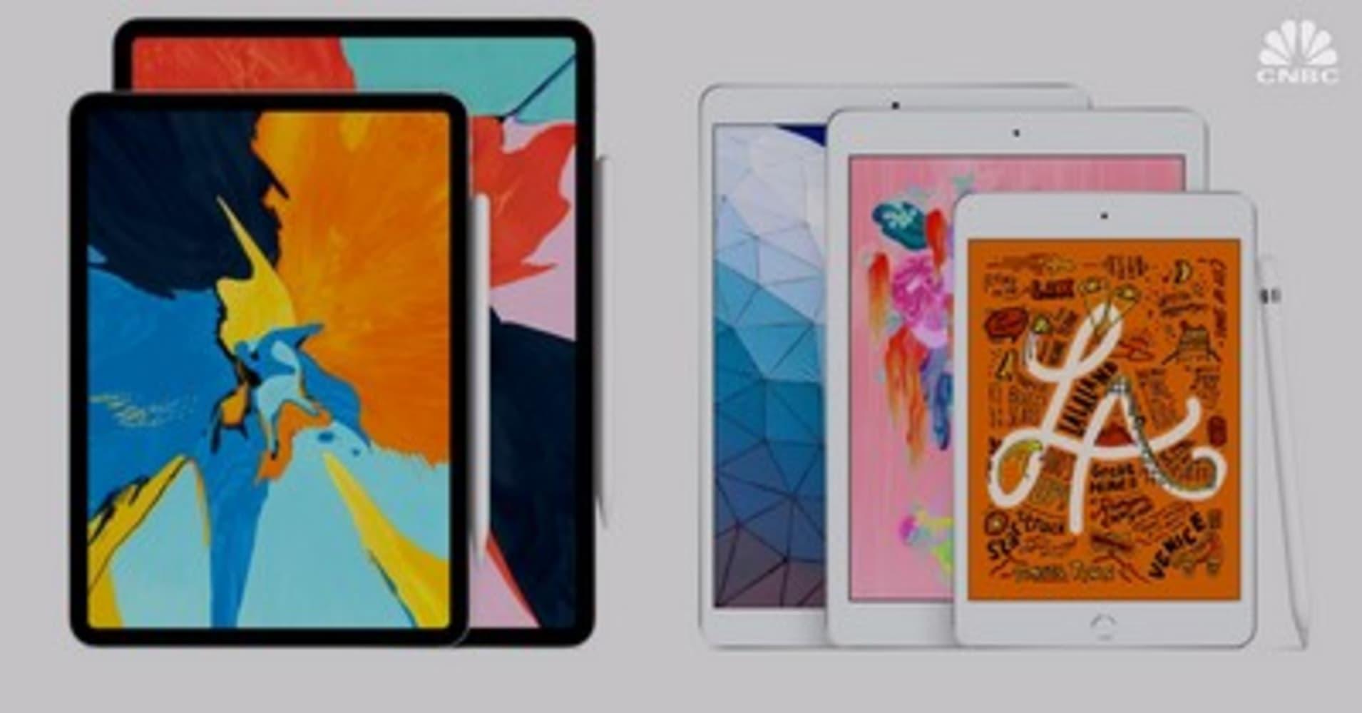 Apple releases new iPad Air and iPad Mini