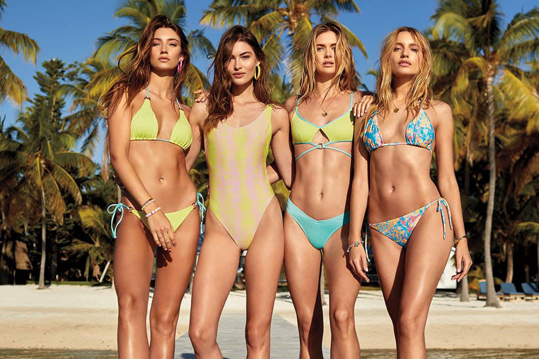 f014be47ae Bathing suits are back at Victoria's Secret