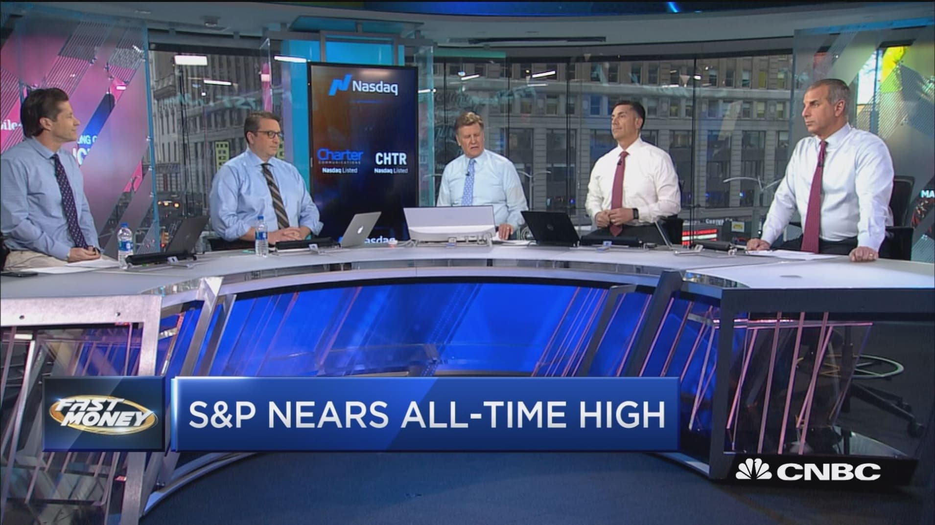 The S&P's within striking distance of all-time highs, here's what traders are buying to catch rally