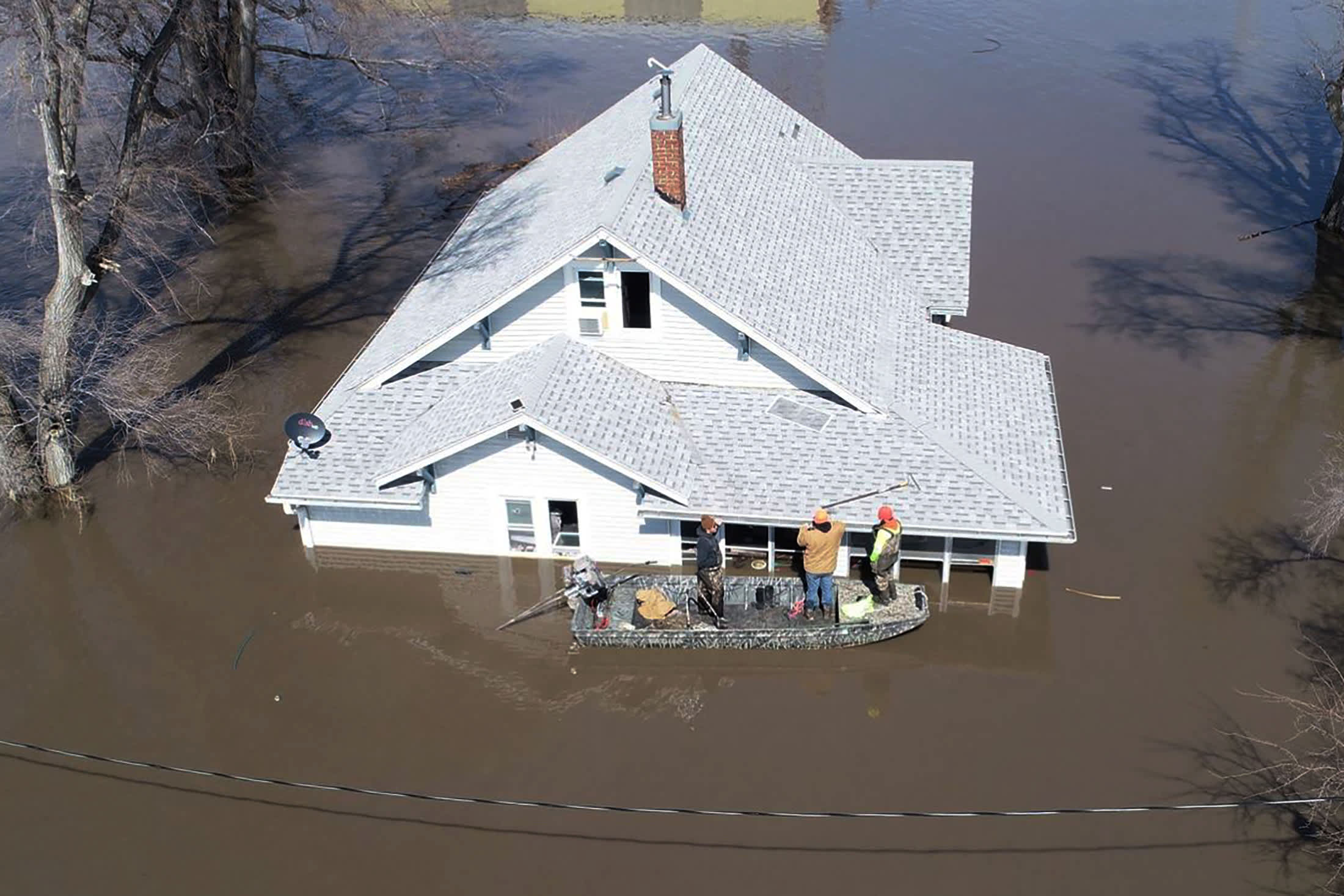 Study says 630 million could be living below projected flood levels by 2100