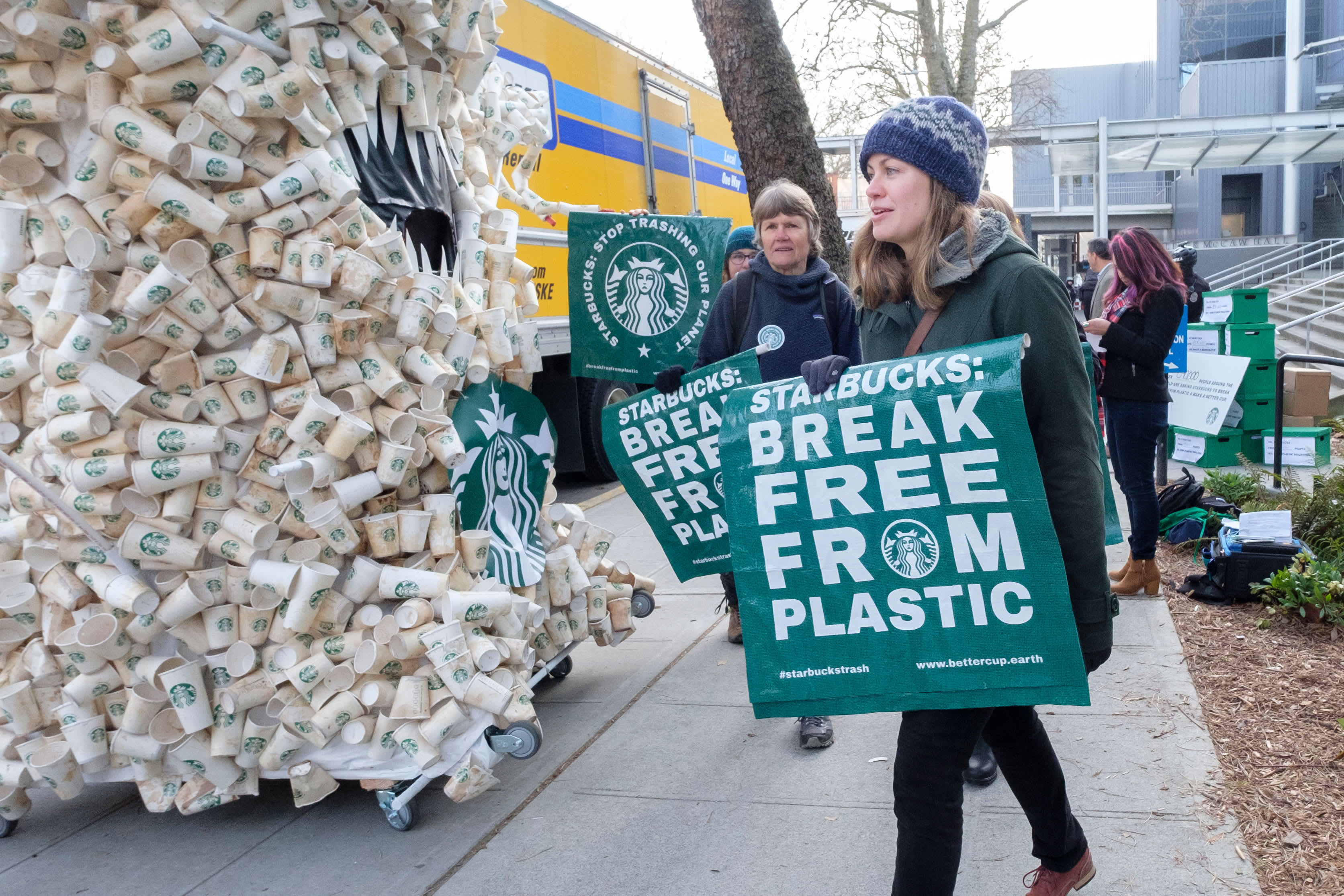 Starbucks aims to become 'resource positive' in climate push