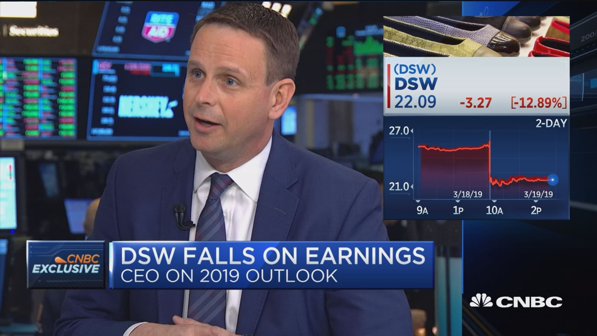 DSW CEO Roger Rawlins on 2019 outlook, corporate name change