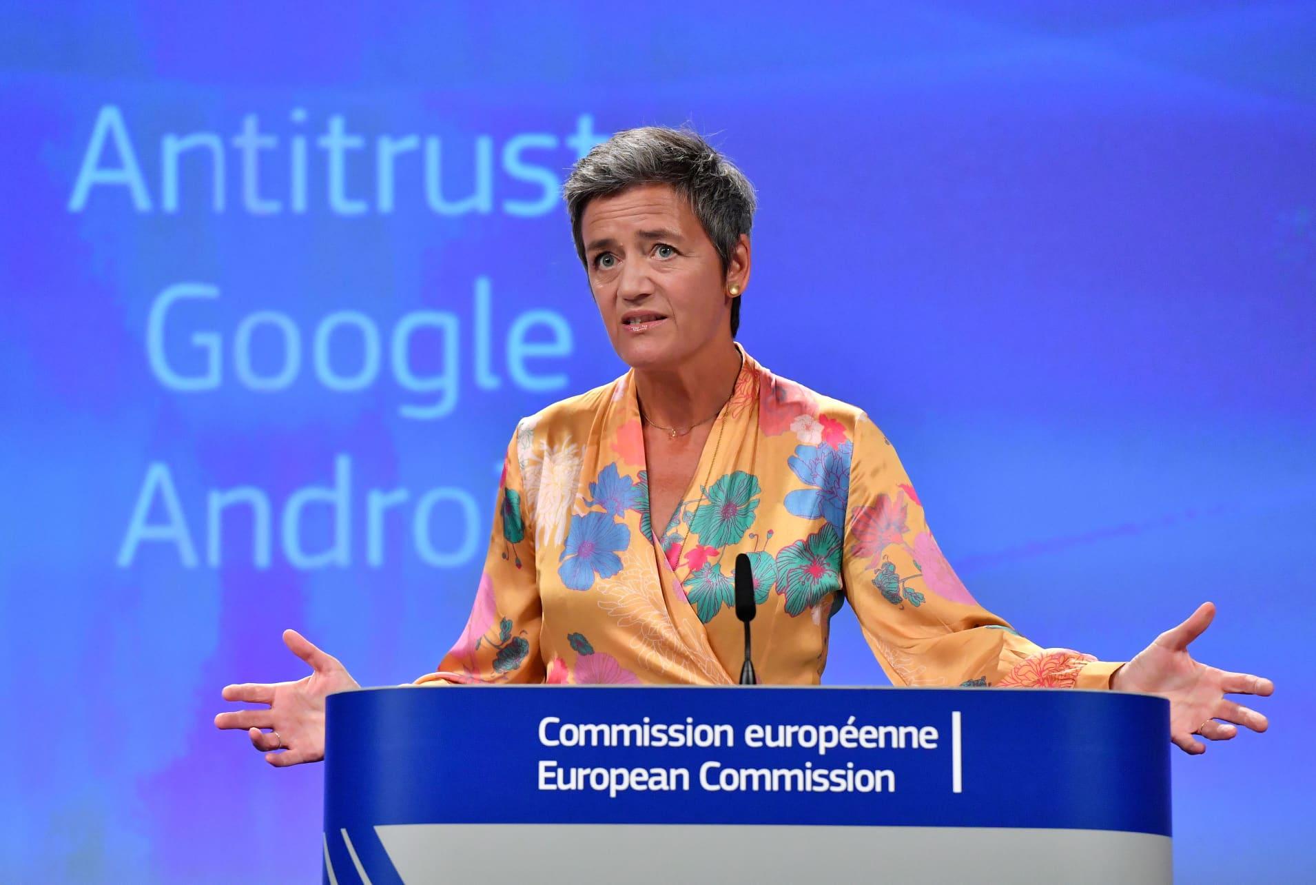 European Union fines Google $1.7B for antitrust violation