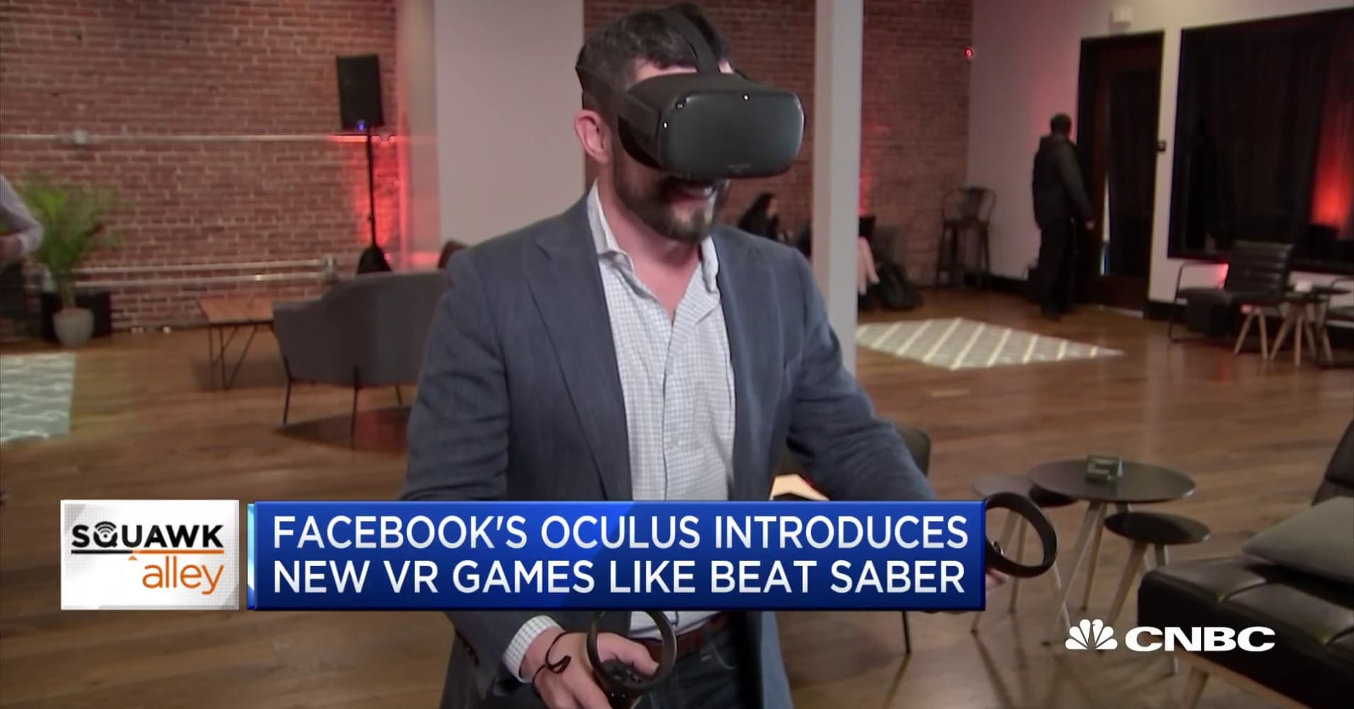 Facebook's Oculus unveils new virtual reality headset