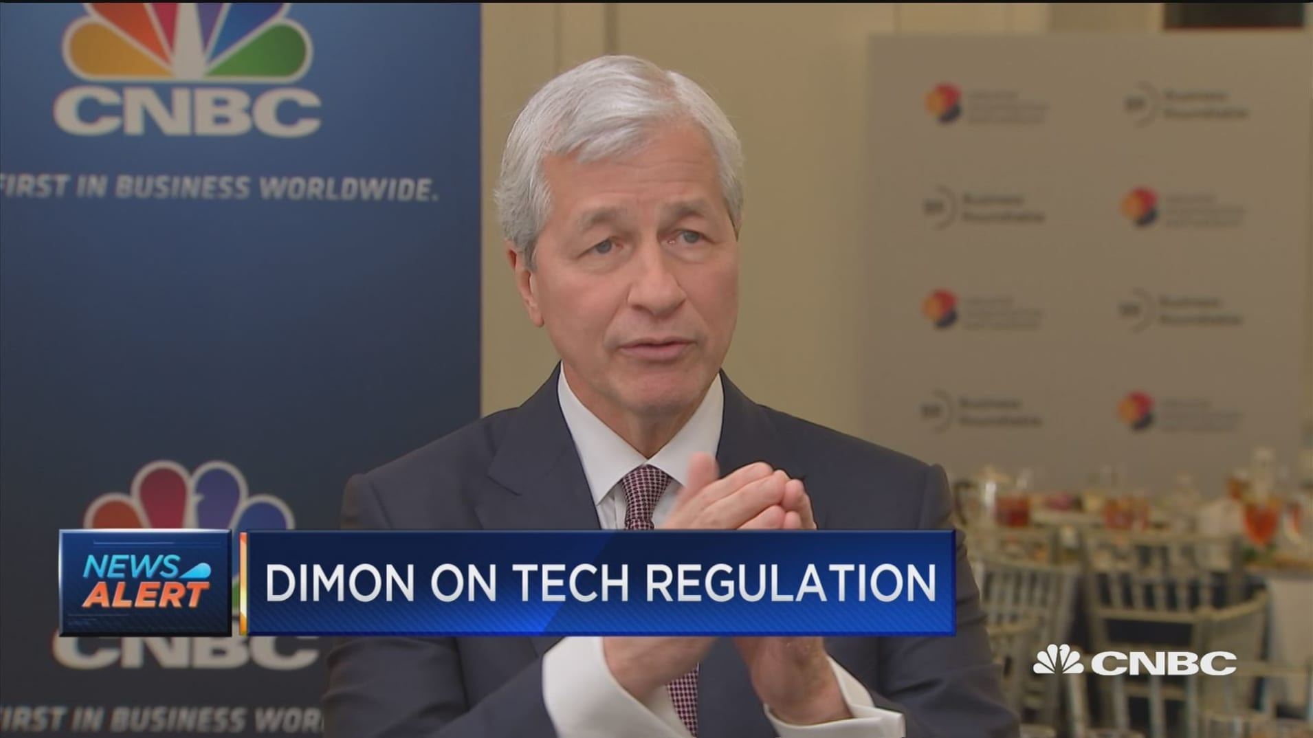 Jamie Dimon: Tech giants should get prepared for 'full monty' of regulatory onslaught