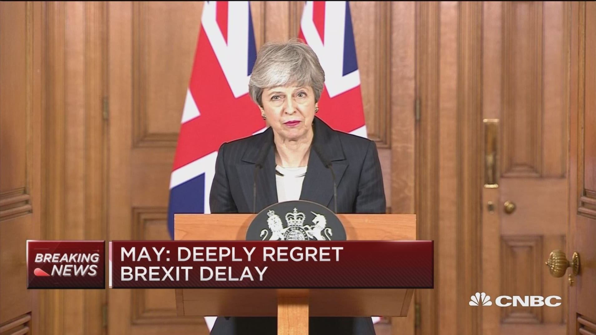 Theresa May: Not prepared to delay Brexit further than June 30
