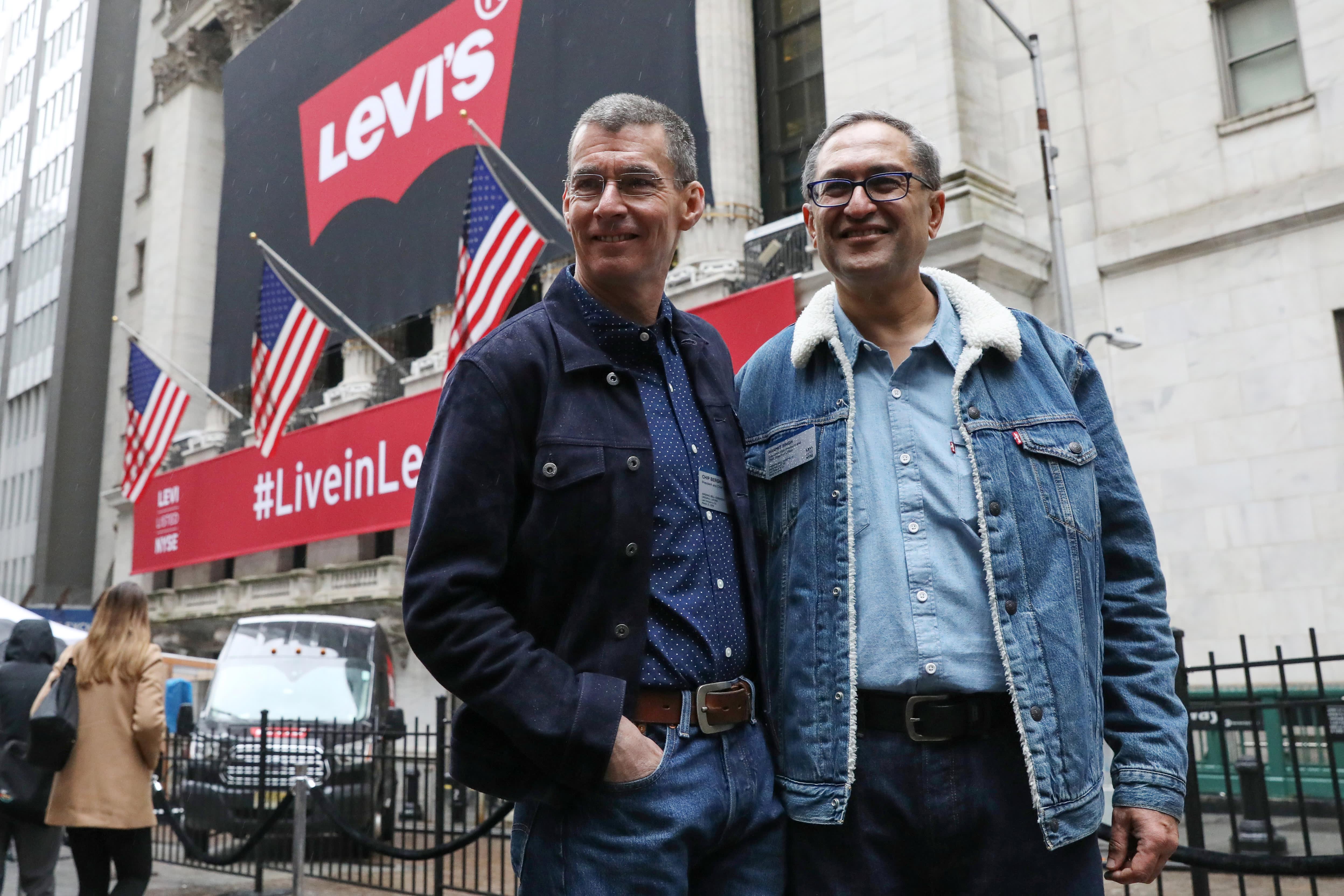 Stocks making the biggest moves in the premarket: Levi Strauss, Apple, Johnson & Johnson & more