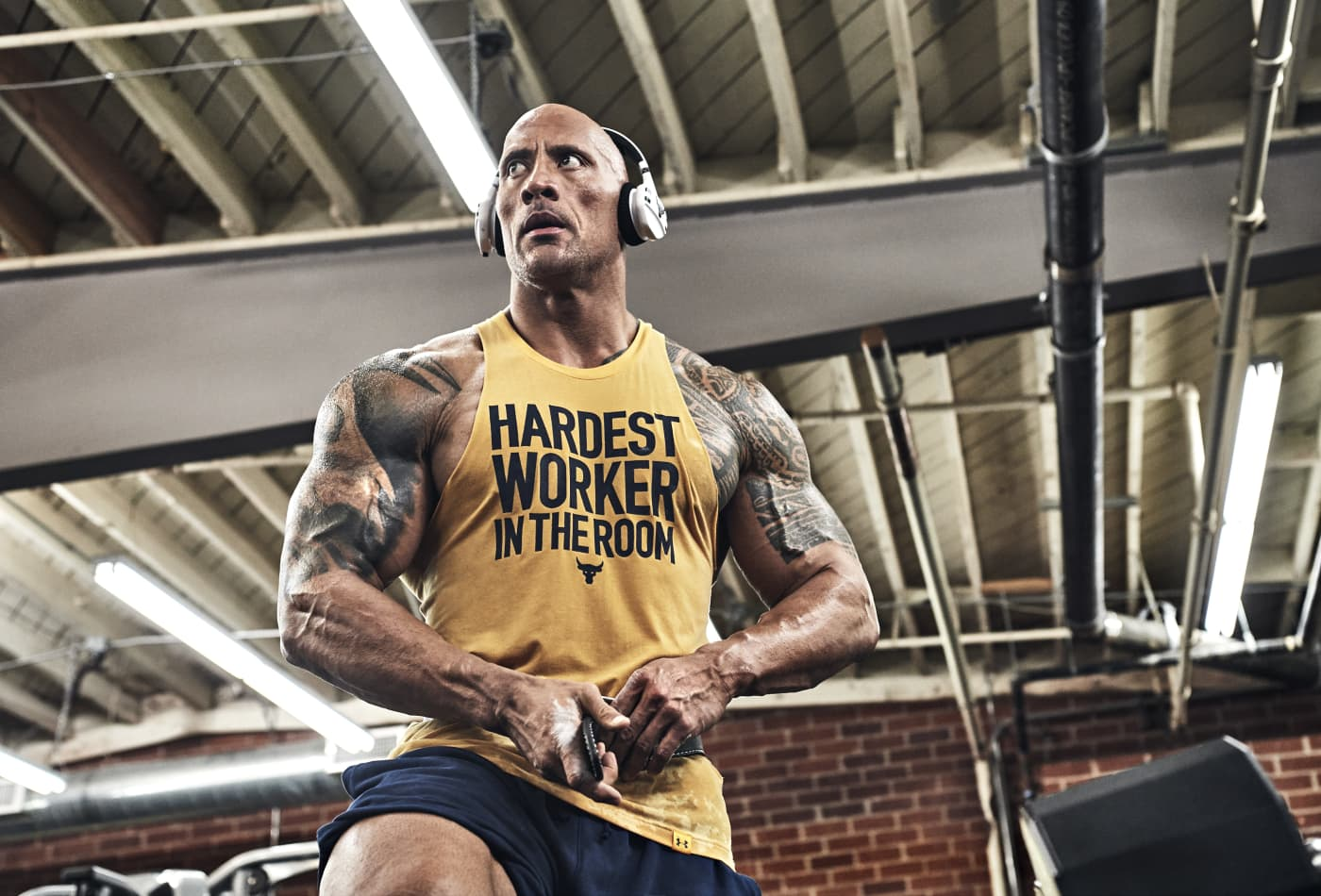 c25c55884 Dwayne Johnson just dropped his latest Under Armour ad campaign for Project  Rock