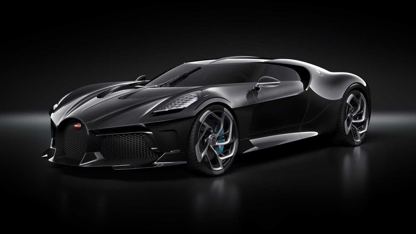 Take A Look Bugatti S La Voiture Noire Car Just Sold For 19 Million