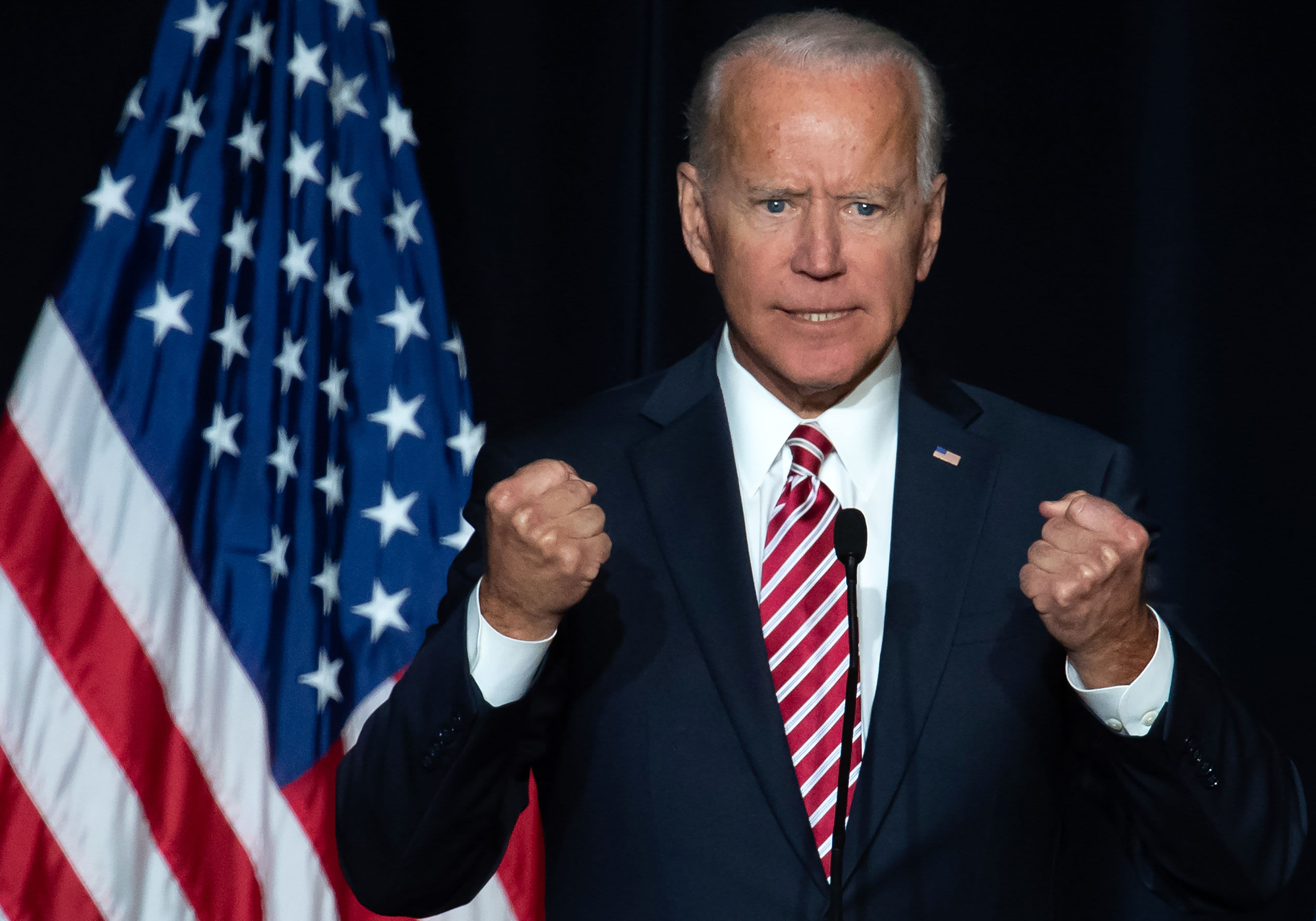 A parody website with embarrassing photos of Joe Biden is outranking his official campaign page on Google thumbnail