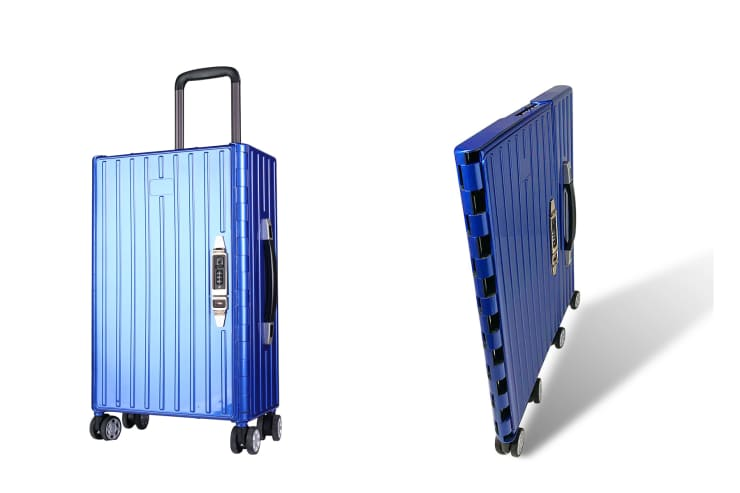 H/O: Trave Goods Show: Solite foldable luggage