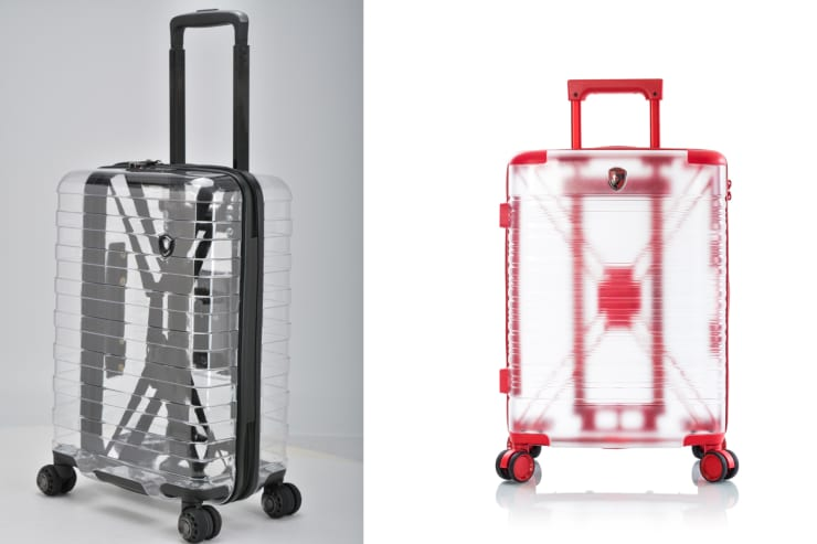 H/O: Travel Goods Show: See through luggage
