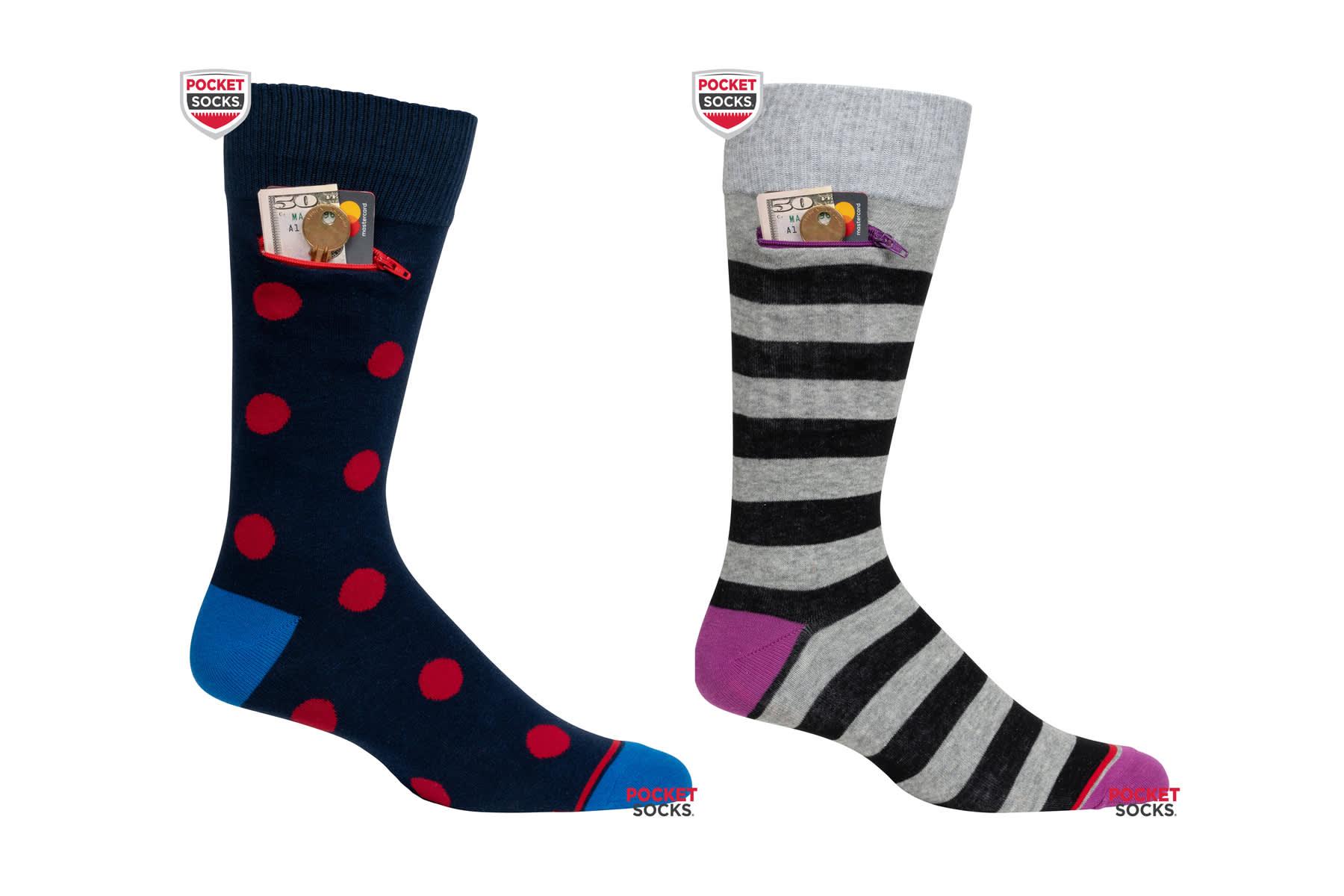 H/O: Travel Goods Show: Pocket Socks