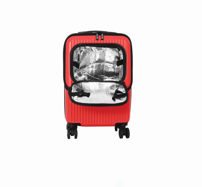 H/O: Travel Goods Show: The Hontus Milano Group Carry-on Carry-out meal bag