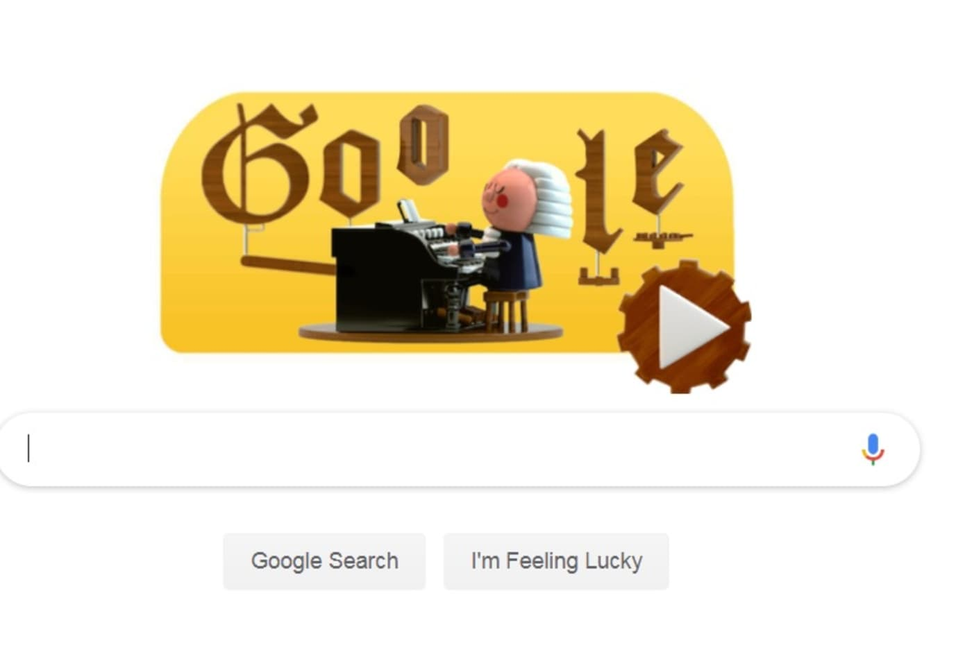 make music that sounds like bach with google s first ever a i powered google doodle ever a i powered google doodle