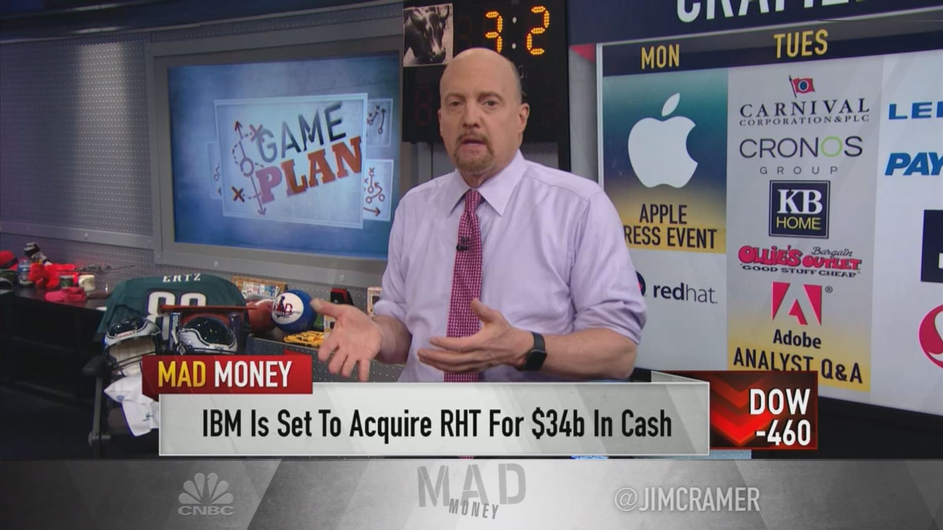 Cramer's game plan: 'Get ready to ride through these troubled waters'