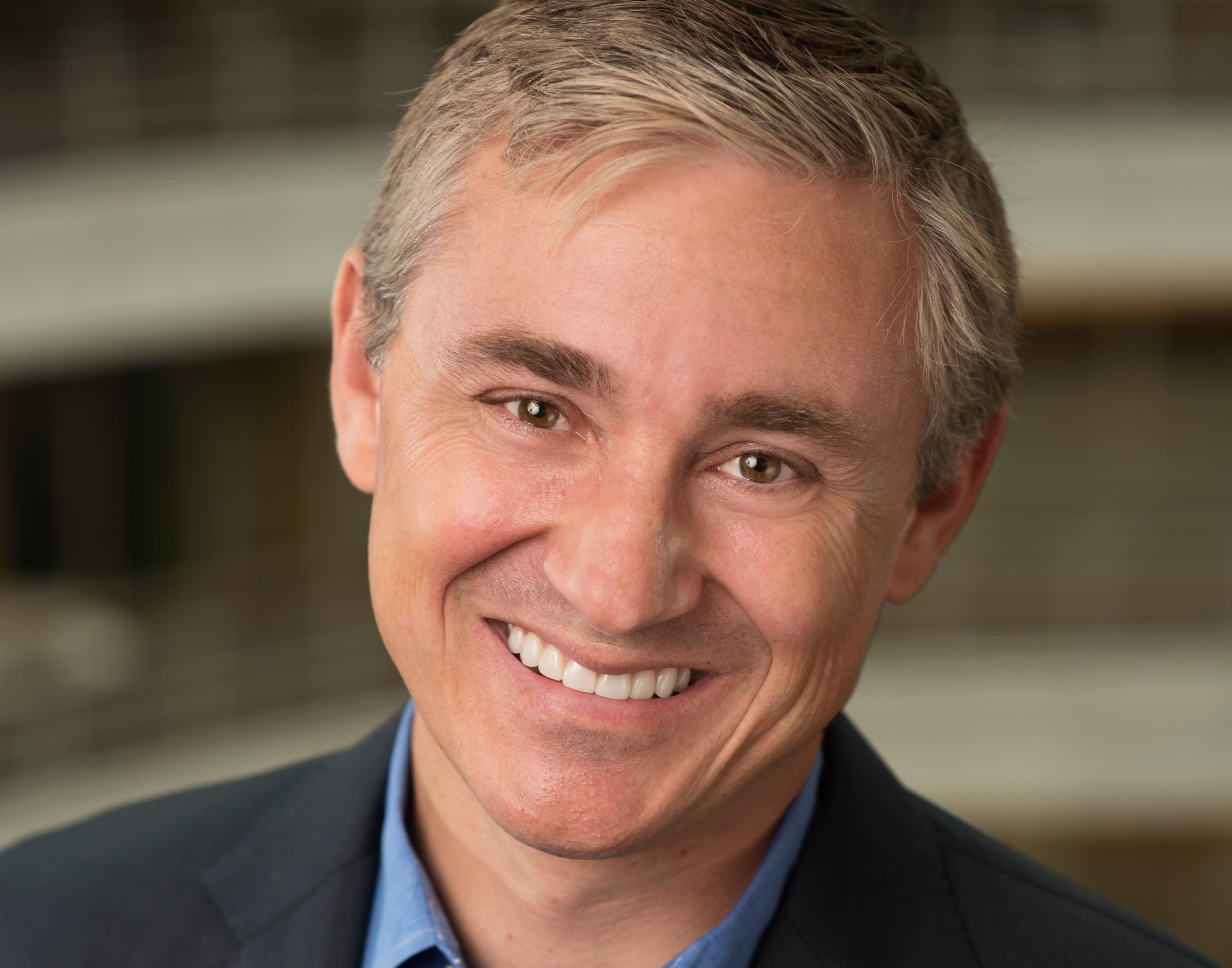 H/O: Frank Gibeau headshot CEO of Zynga