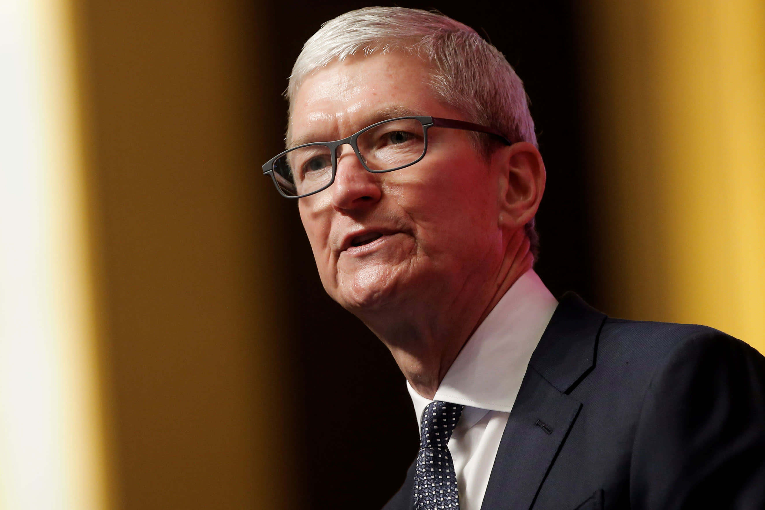 Apple CEO Tim Cook calls US inaction on gun control 'insanity' after mass shootings