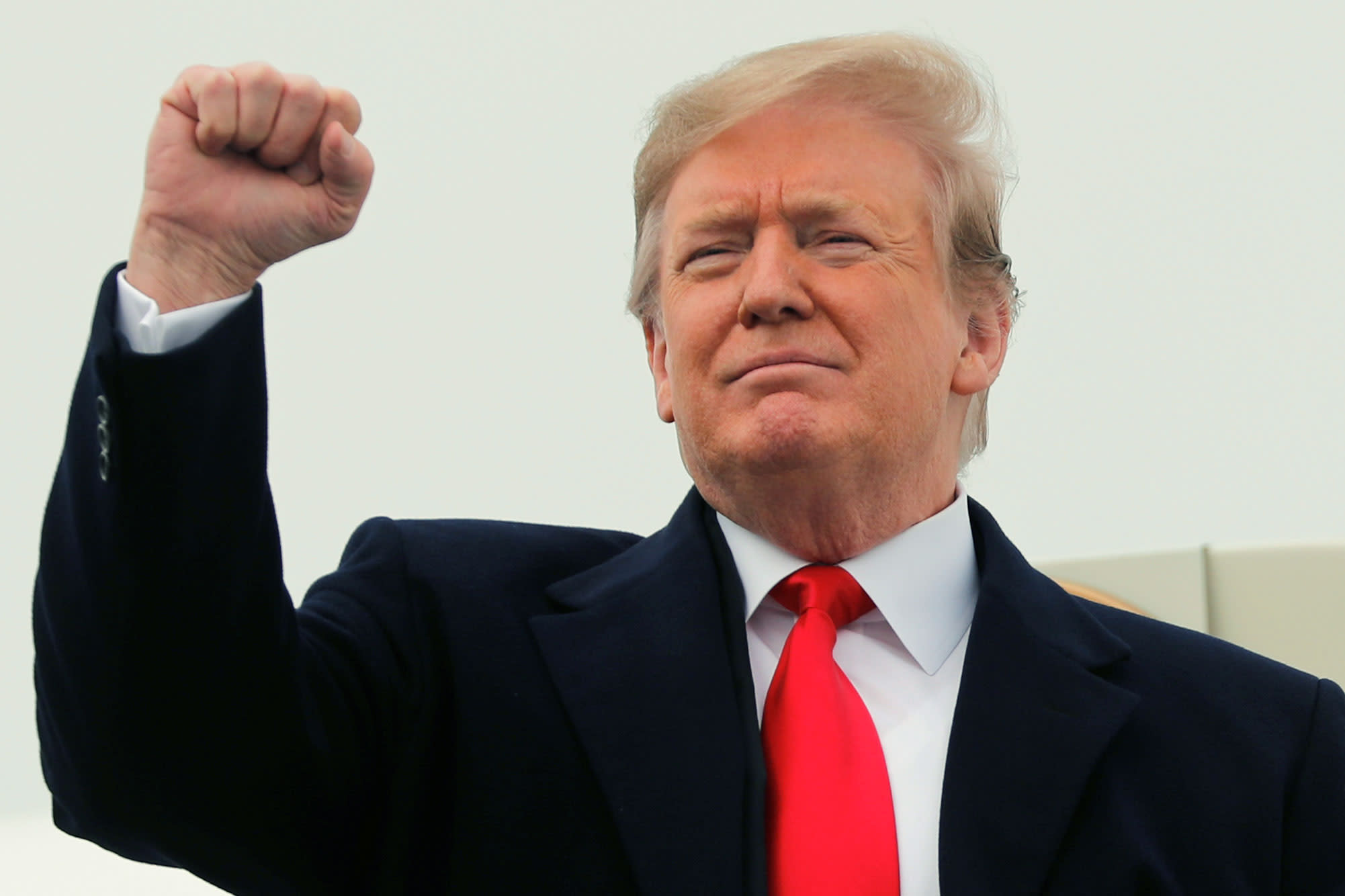 61f5507a35c2b Trump turns to trade fights with Congress, China and Europe now that the  Mueller probe is mostly out of the way
