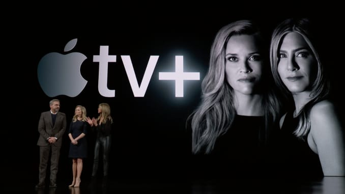 H/O: Steve Carell, Reese Witherspoon Jennifer Aniston Apple TV+ event