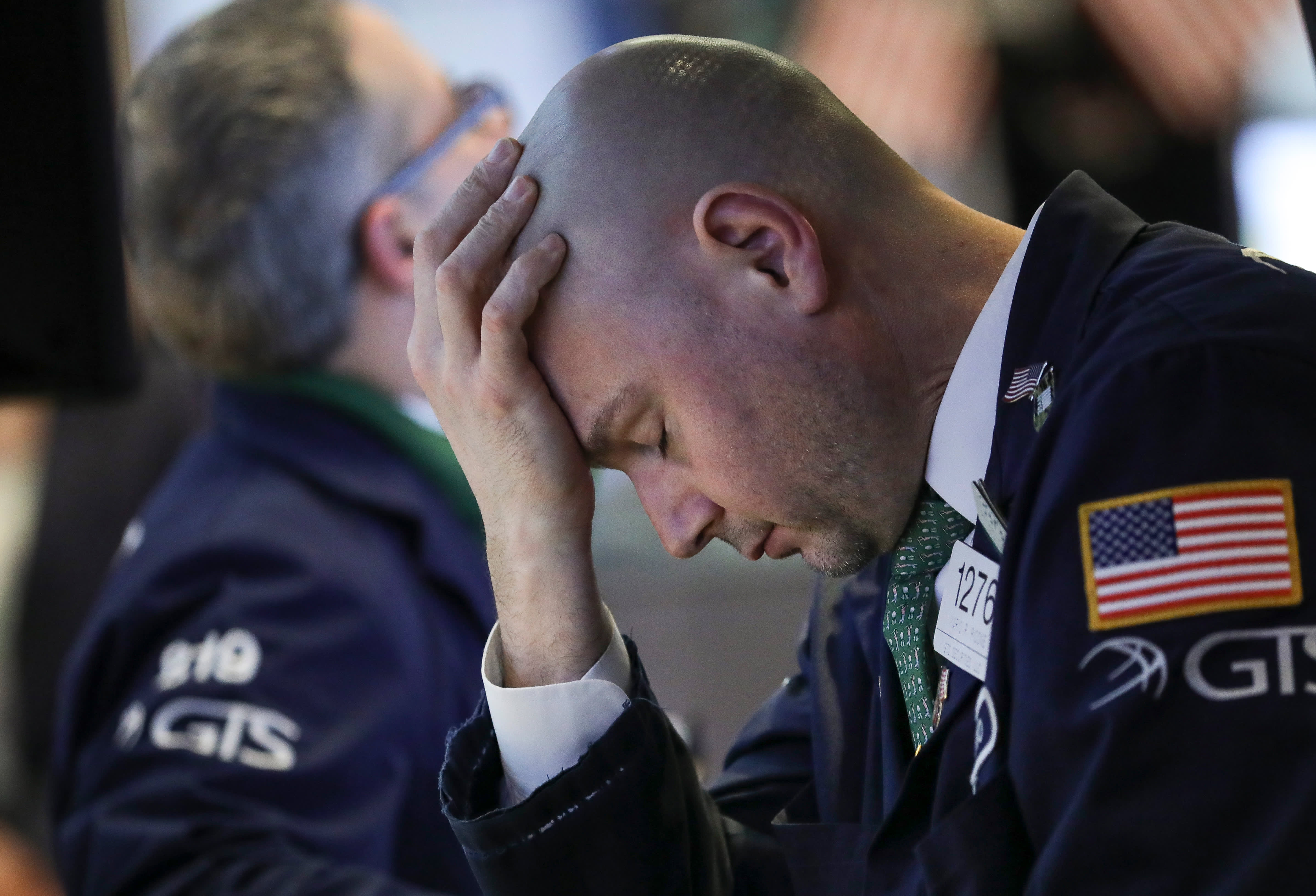 Dow plunges 750 points after bond market flashes a recession warning, Citigroup tanks 5%