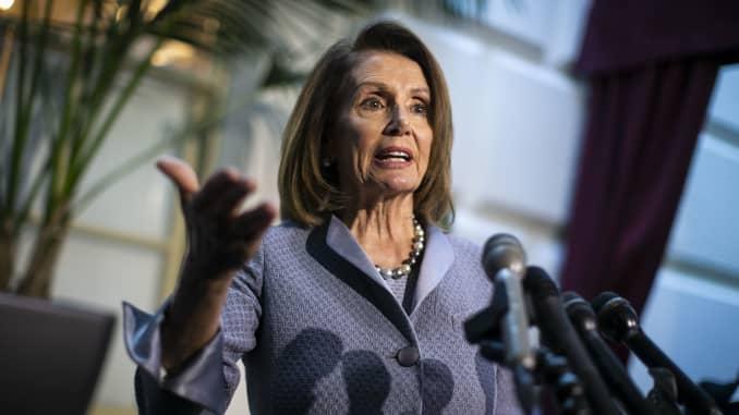 Pelosi urges Trump to call Senate back into session to consider gun
