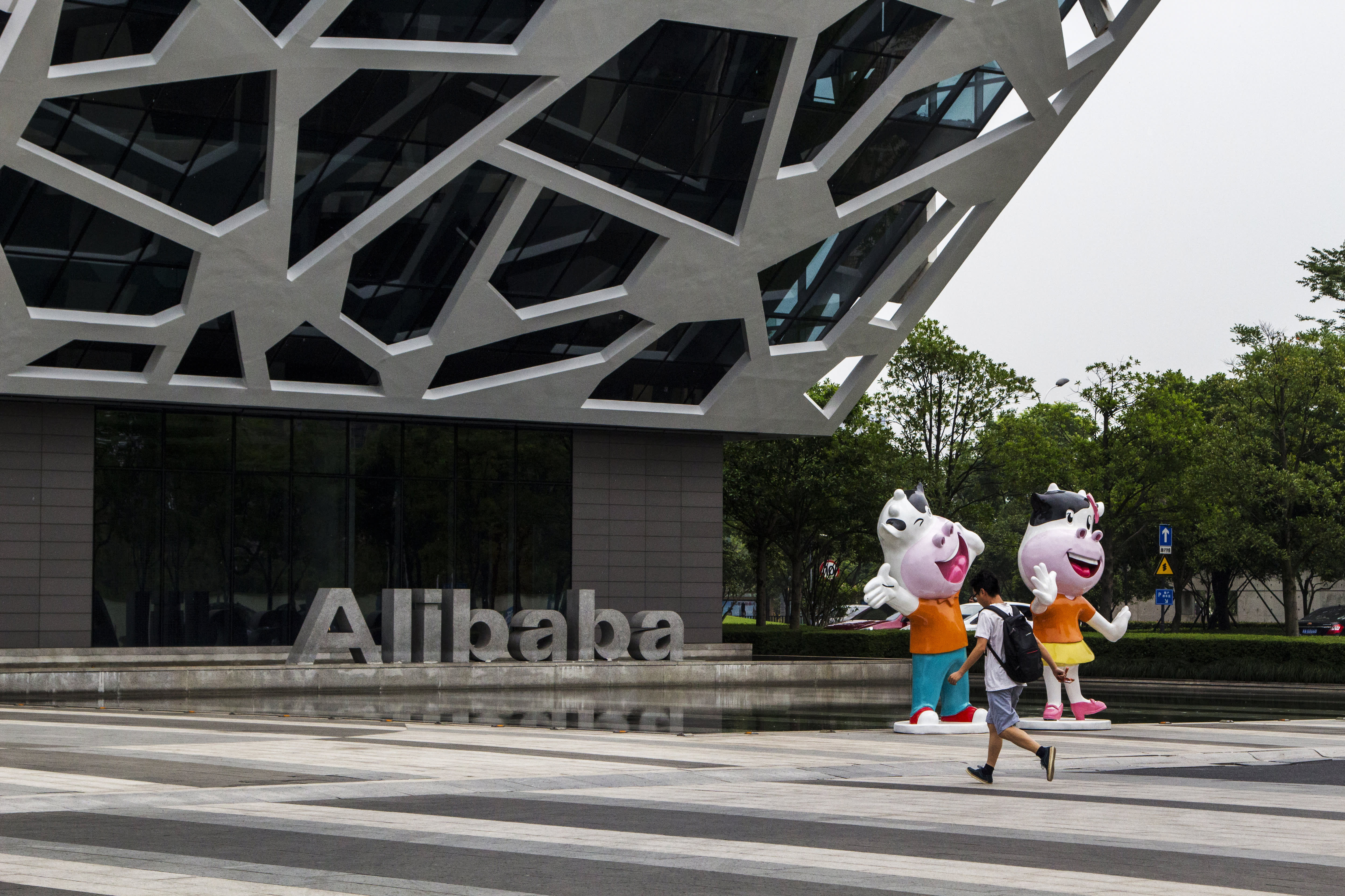 We went inside Alibaba's global headquarters. Here's what we saw
